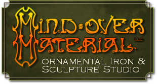 Mind Over Material - Ornamental Iron & Sculpture Studio